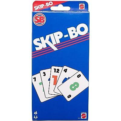 Mattel Games Skip-Bo Retro Game: Toys & Games