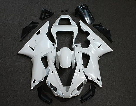Amazon.com: Zxmoto Carenado Kit para 00-01 Yamaha YZF R1 ...