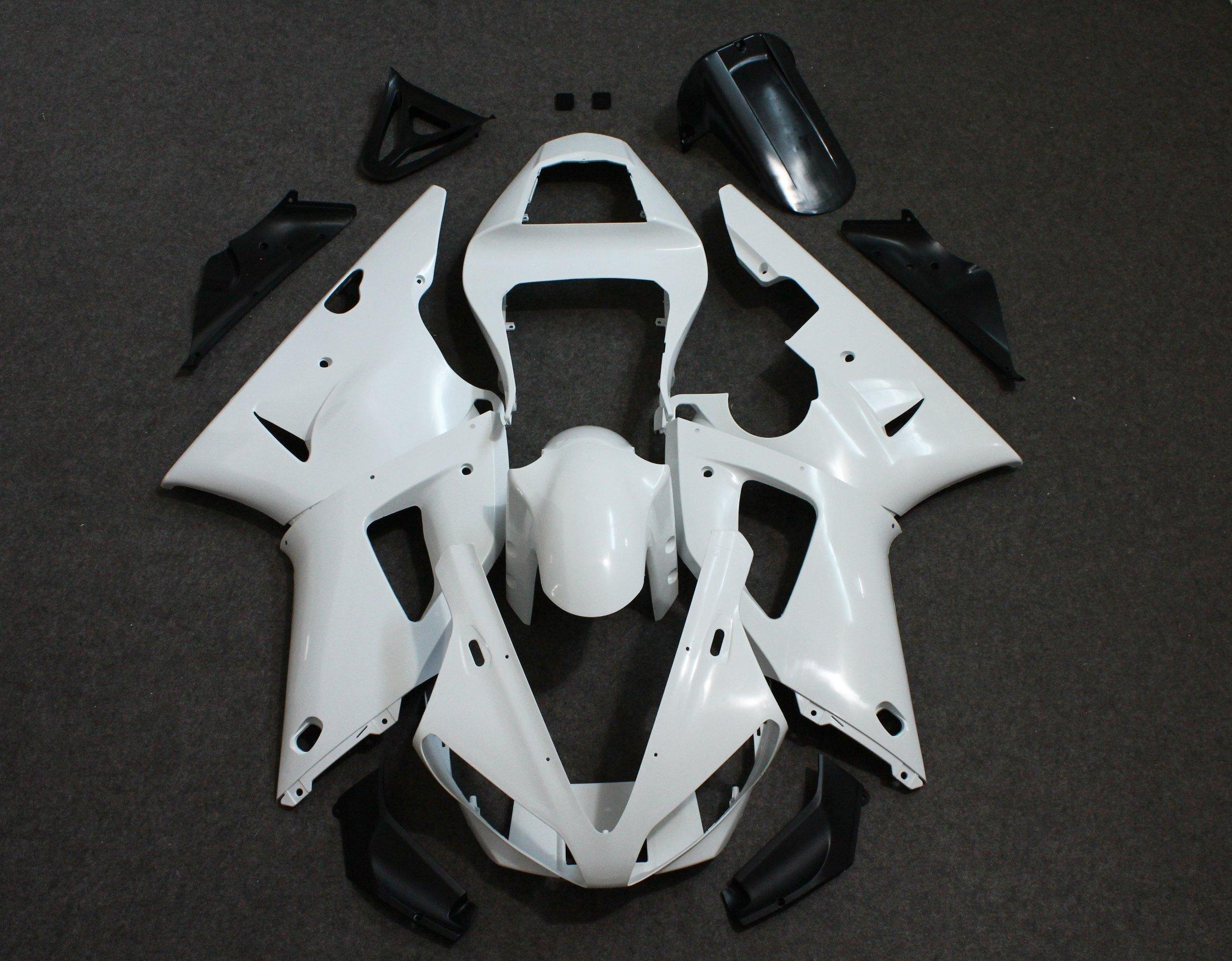 ZXMOTO Unpainted Fairing Kit for Yamaha YZF R1 (2000 - 2001)