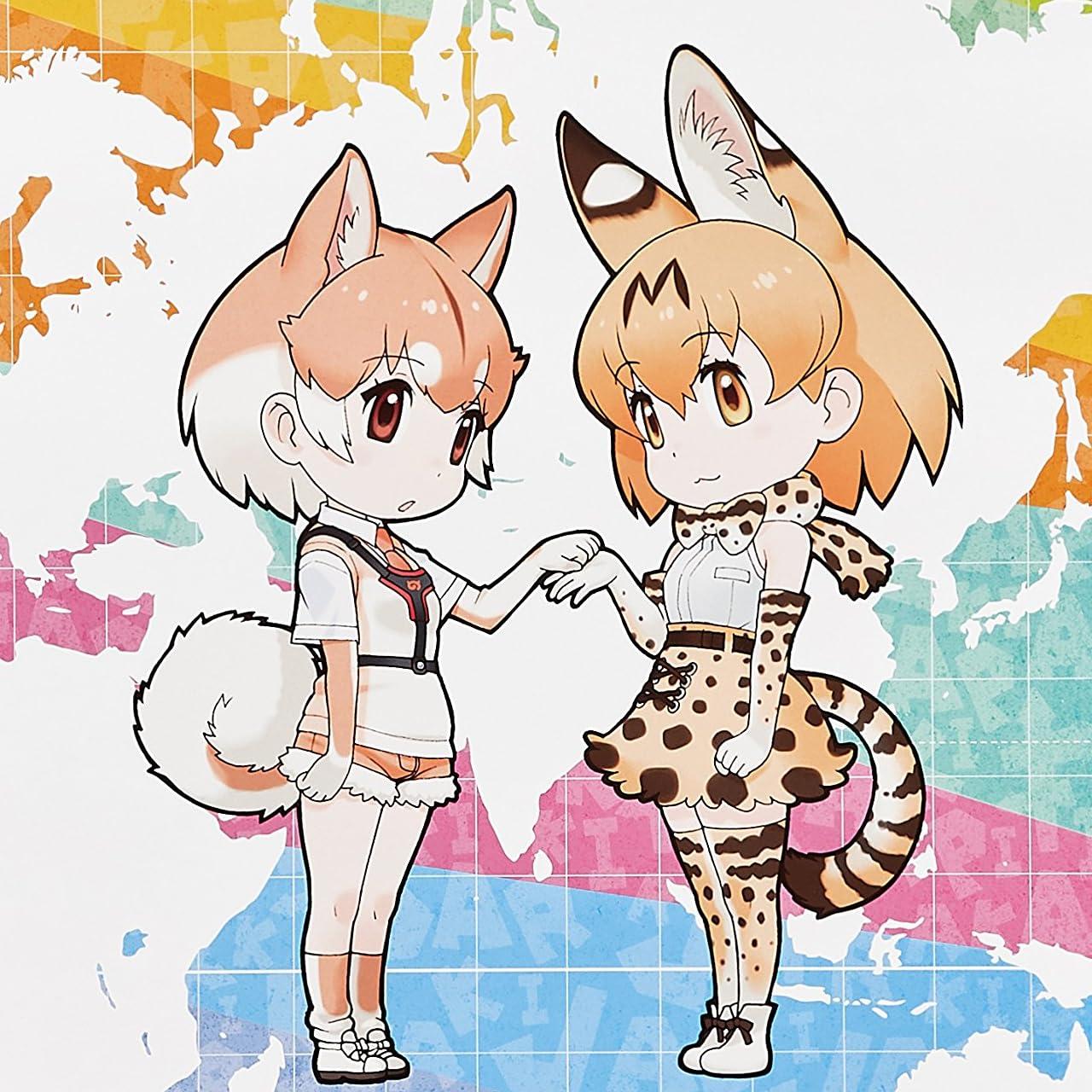 けものフレンズ Ipad壁紙 オグロプレーリードッグ サーバル アニメ