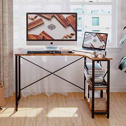 IRONCK Computer Desk Corner Table