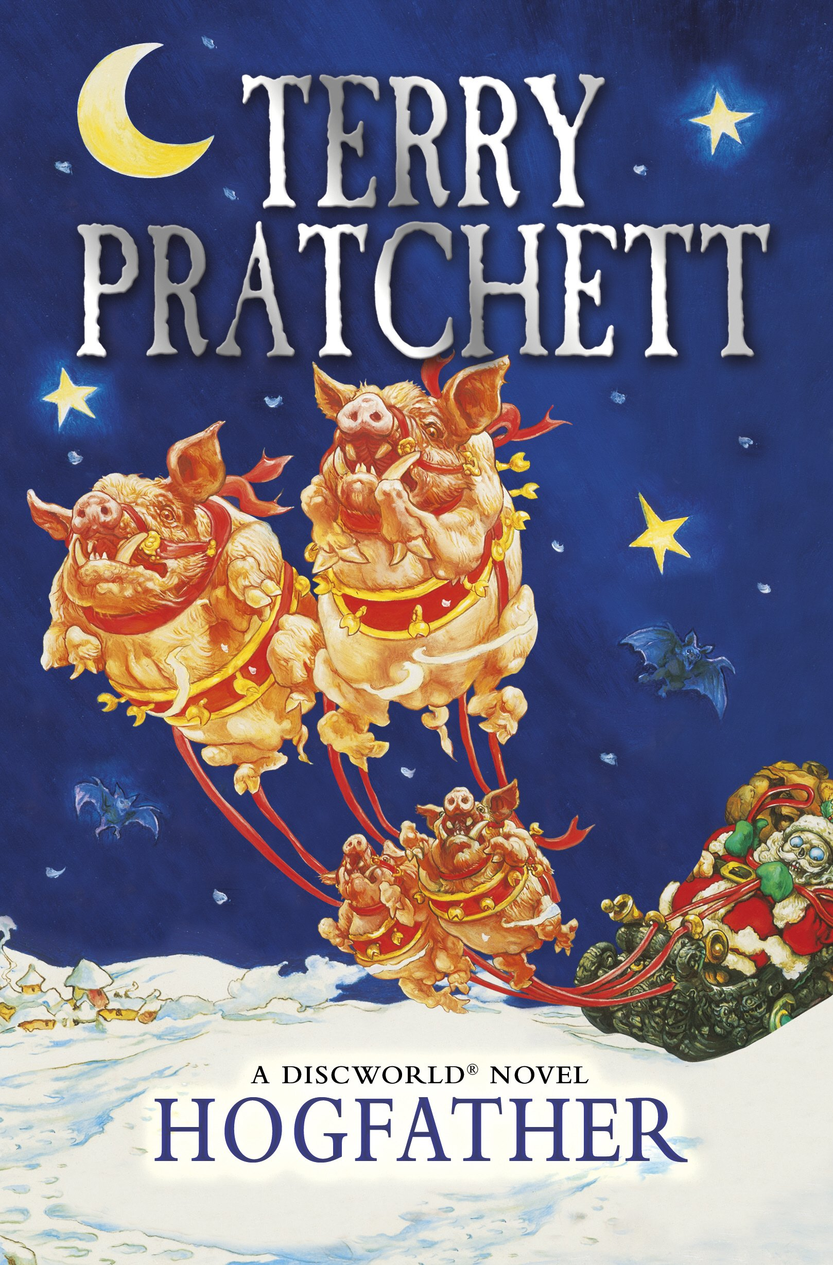 Hogfather: A Discworld Novel: Terry Pratchett: 9780552167581: Amazon ...