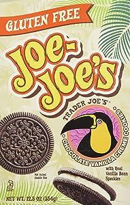 Trader Joe's Gluten Free Joe Joe's (Chocolate/vanilla Creme Cookies)