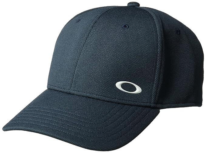 Oakley SILICON ELLIPSE BLU NAVY Large XLarge Stretch Fit Cappelli Berretto  da baseball  Amazon.it  Abbigliamento e1544471dccf