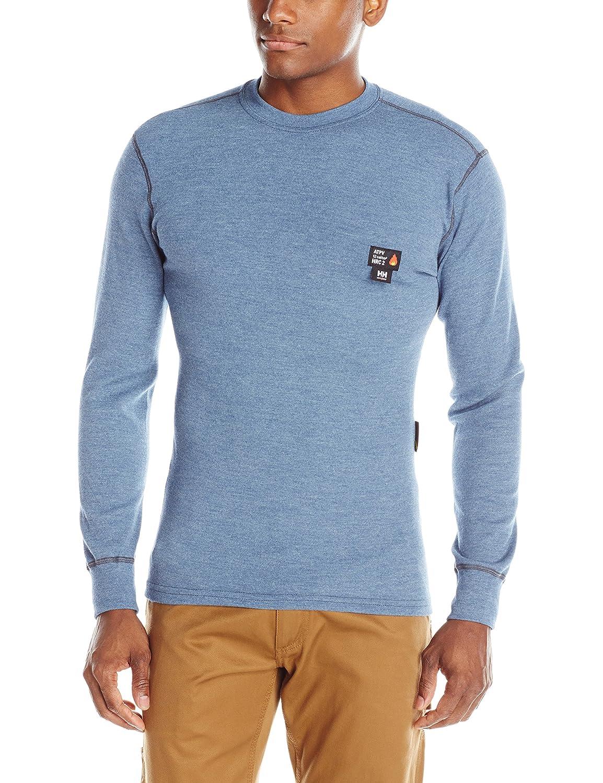 Helly Hansen Work Shirt Mens L//S Base Layer Fargo FR Crewneck 75090 75090-560-2XLJ0-Parent