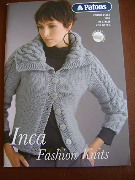 Patons Knitting Pattern Book 21 Ladies Fashion Knit Patterns In