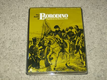 Amazon.com: Batalla de Borodino (SPI plana Bandeja 1972 ...