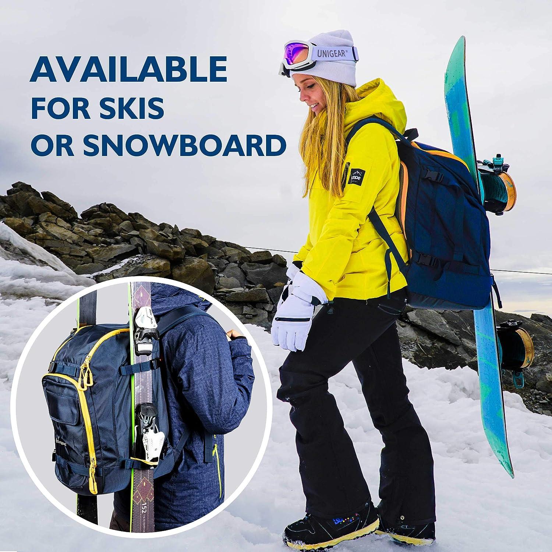Winter Sports Skiing Skating Rucksack Snowboard Shoes with Helmet Bag Unigear Ski Boot Backpack