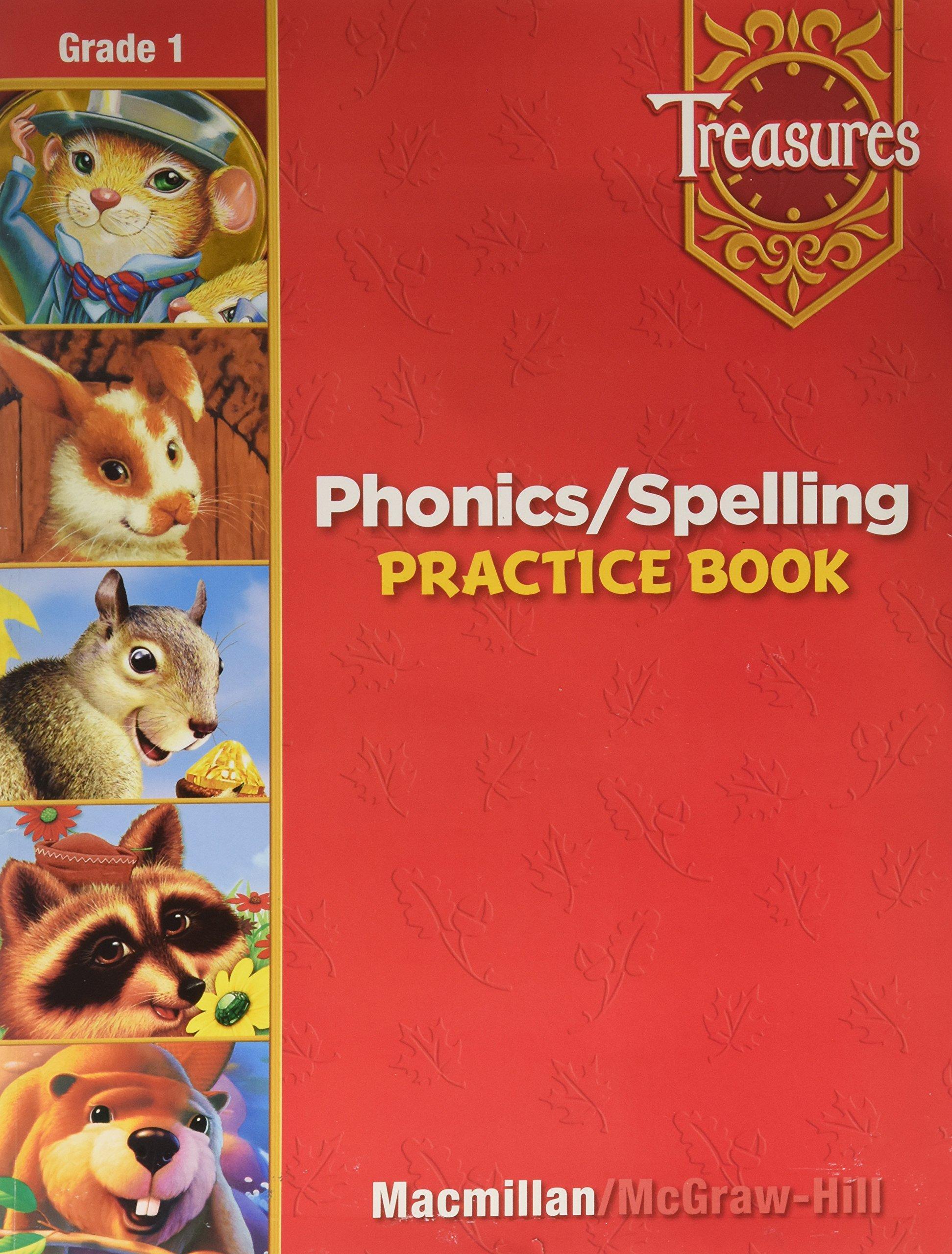 Download Phonics / Spelling Practice Book, Grade 1 (Treasures) ePub fb2 book