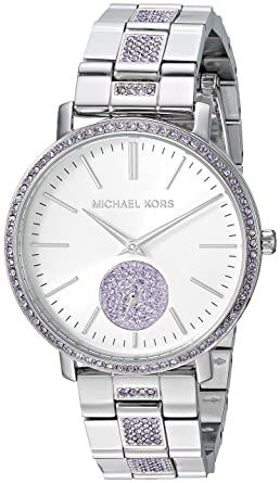 1e401d847457 Amazon.com  Michael Kors Women s MK3855 - Jaryn Silver Tone One Size   Watches
