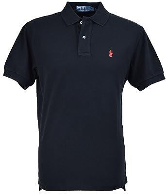 Lauren Ralph Men's Polo Black Shirt yvN8n0Omw