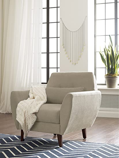 Elle Decor  Mid Century Modern Amelie Arm Chair