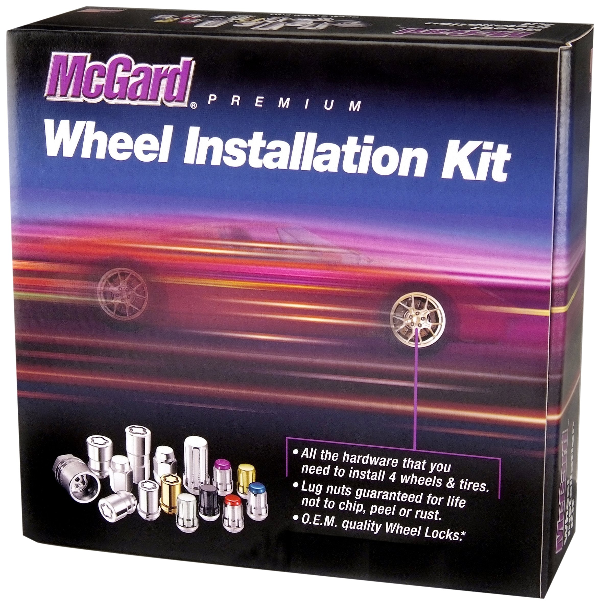 McGard 65515 Chrome Spline Drive 5 Lug Wheel Installation Kit