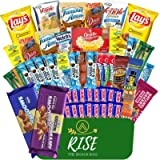 Rise The Snack Bag Care Package Snacks for Adults & Kids, Snack Box Full of Delicious Snacks, Chips, Bars, Cookies, and…