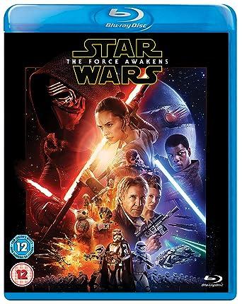 amazon com star wars the force awakens blu ray region free uk