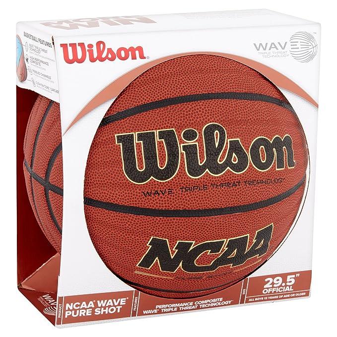 Balón de Baloncesto Wilson NCAA tamaño Oficial – Wave Pure Shot ...