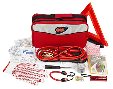 AAA Approved Roadside Kit, Emergency Traveler Kit (103 Pieces)