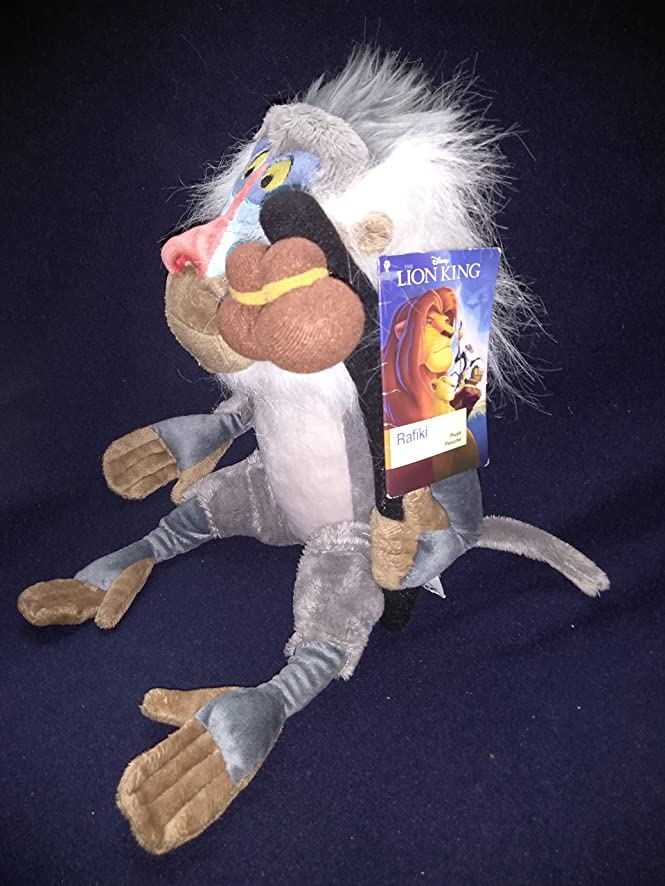 Amazon.com: Rare Limited Disney Store Plush Rafiki the Monkey From Lion King New With Tags 15 Inches: Toys & Games