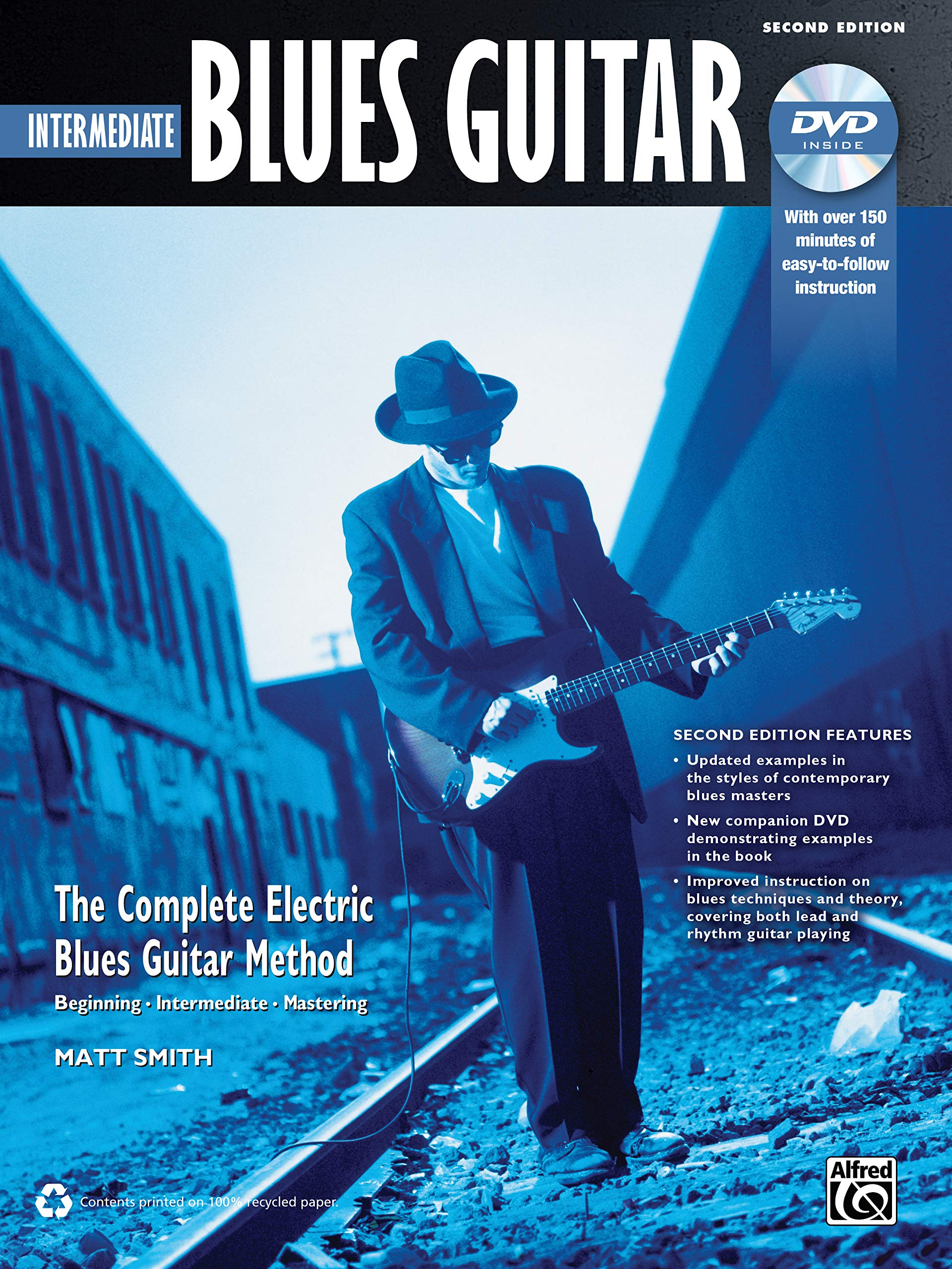 Intermediate Blues Guitar: The Complete Electric Blues Guitar ...