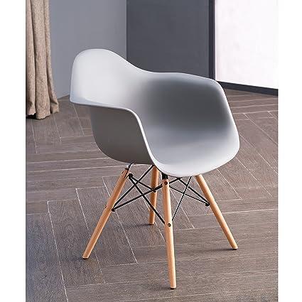 Remarkable Amazon Com Mid Century Modern Scandinavian Style Siena Inzonedesignstudio Interior Chair Design Inzonedesignstudiocom