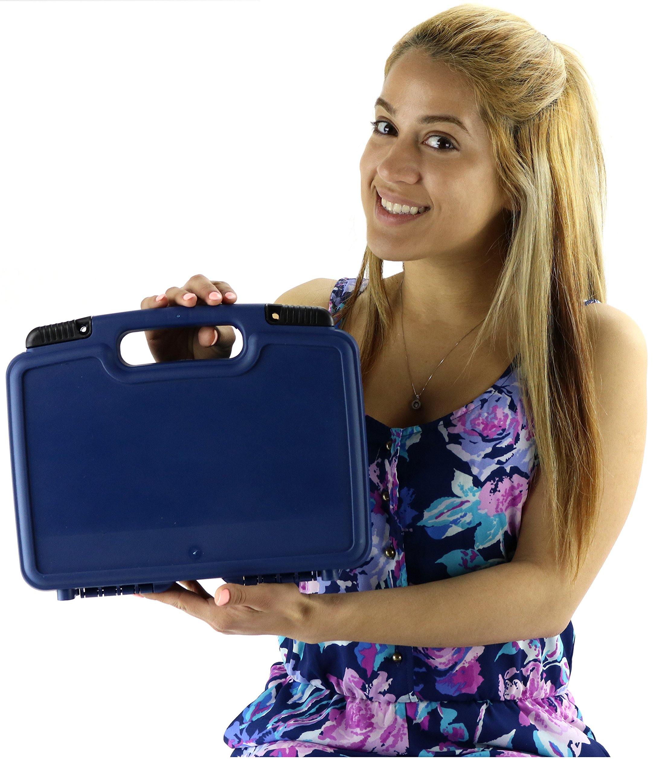 Life Made Better Storage Organizer - Compatible with Sphero 2.0 The App-Controlled Robot Ball and Accessories- Durable Carrying Case - Blue by Life Made Better (Image #7)