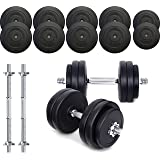 TNP Accessories® Dumbbell Weights Set 15KG / 20KG / 30KG / 40KG / 50KG Dumbbells Bar Set