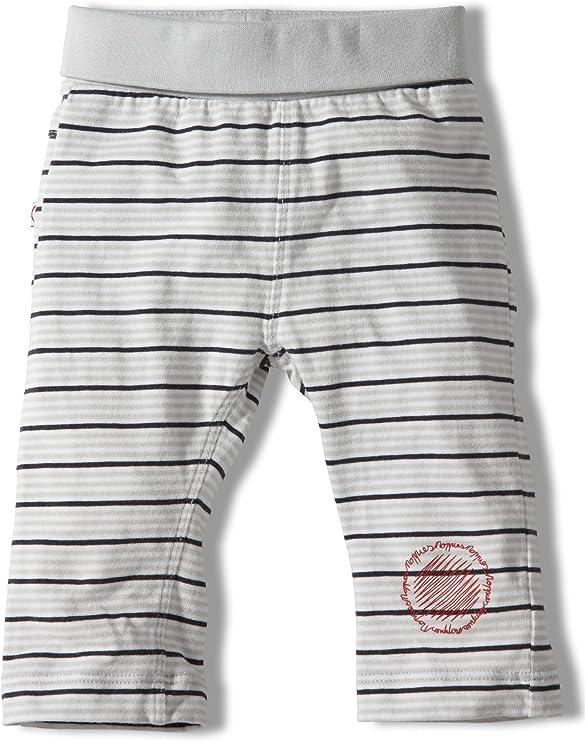 Noppies - Pantalones blanco de 95% algodón 5% elastano, talla: 56cm (0-3 meses): Amazon.es: Bebé