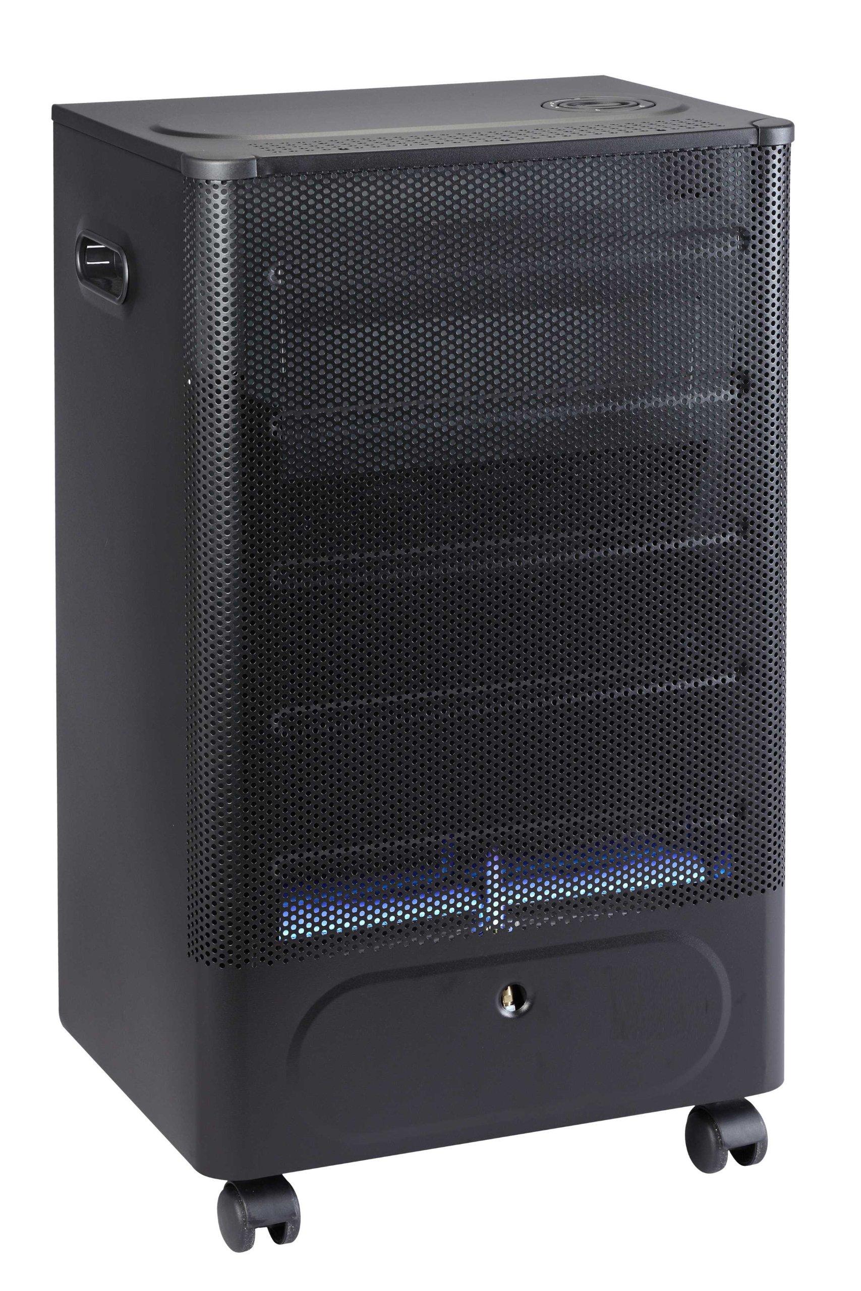 Favex 8591600 Praha Blue Flame Chauffage d'Appoint à Gaz Flamme Noir/Bleu 40 x 29 x 70 cm product image