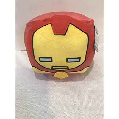 CubdCollectibles Plush Squish Mini Travel Pillow (Iron Man): Toys & Games