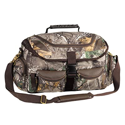 Realtree APX Hunting Gear Camo Field Duffle Blind Bag