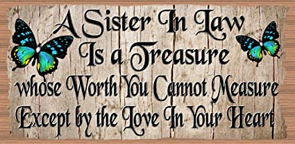 GS 2232 Sister Wood Signs Sister Sister GiggleSticks