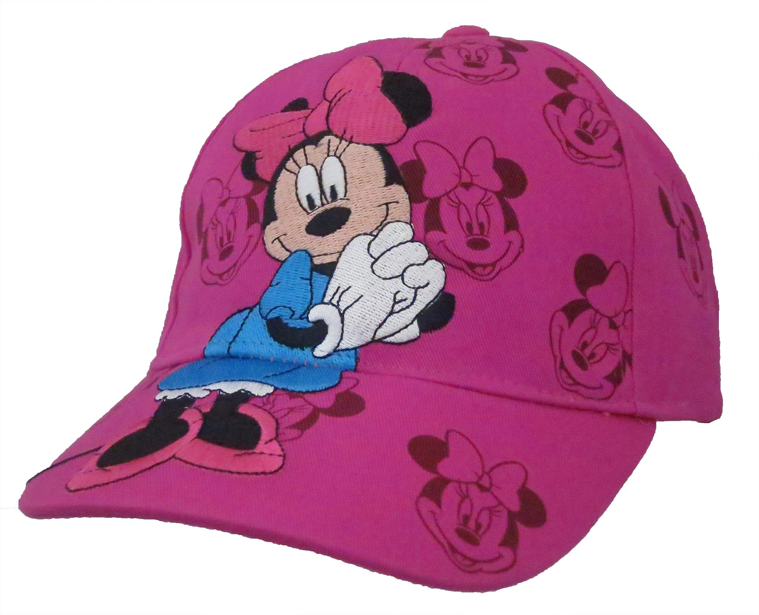 Disney Minnie Mouse Faces Girls Baseball Cap [2013]