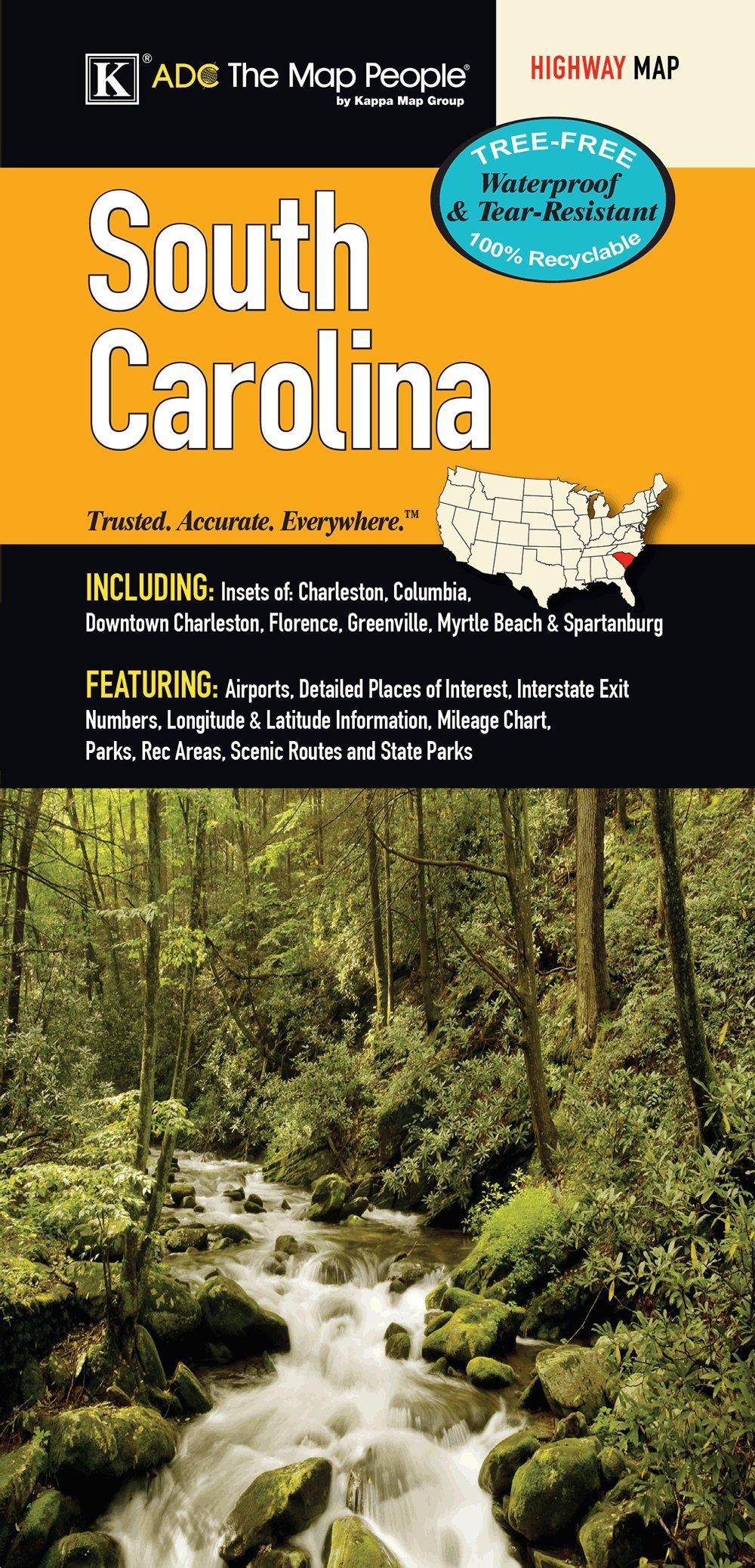 South Carolina State Waterproof Map pdf epub