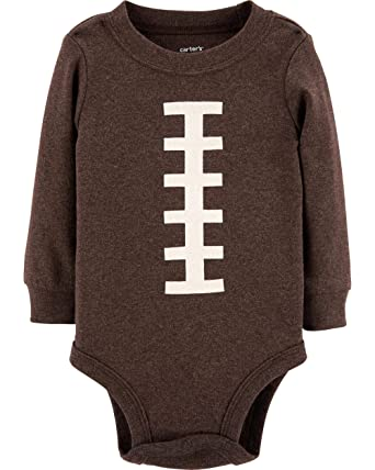 b0a0bf7a67ec Amazon.com  Carter s Baby Boy s Thanksgiving Football Long Sleeve ...