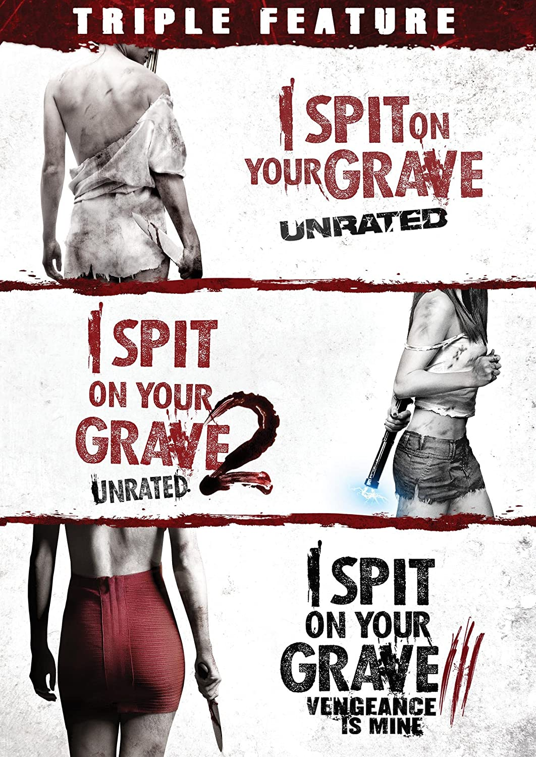 i spit on your grave complete horror movie trilogy 1 2 3