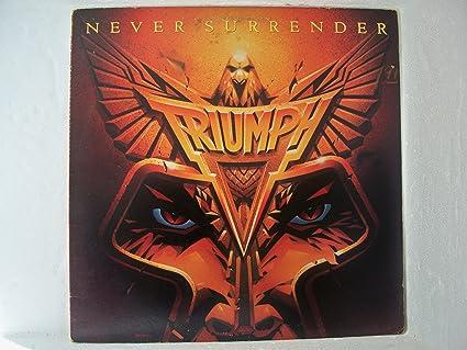 Triumph never surrender full album