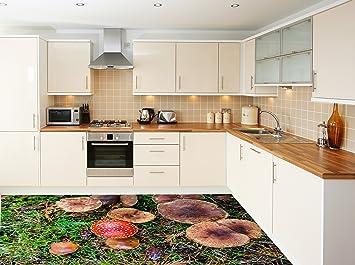 3d Fußboden Aufkleber ~ Ruvitex d küche boden vinyl dekor pvc bodenbelag teppich