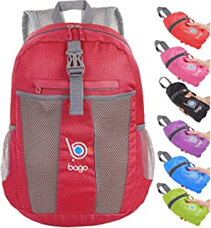 bago 25L Lightweight Packable Backpack - Water Resistant Travel Hiking  Foldable Camping Outdoor Backpack cbced987fdd23
