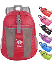 3914ef5608be Bago 25L Lightweight Packable Backpack - Water Resistant Travel and Hiking  Daypack - Foldable and Handy