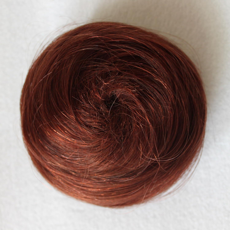 Prettyshop 100 Echthaar Human Hair Dutt Hochsteckfrisuren Haarteil