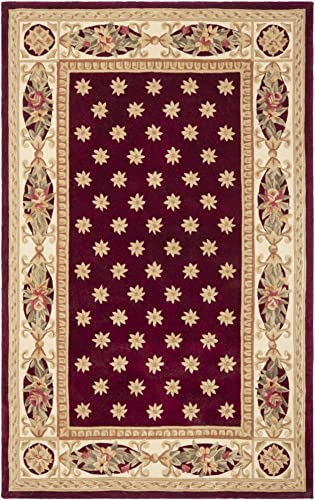 Safavieh Naples Collection NA610C Handmade Multicolored Wool Area Rug, 9 feet by 12 feet 9 x 12