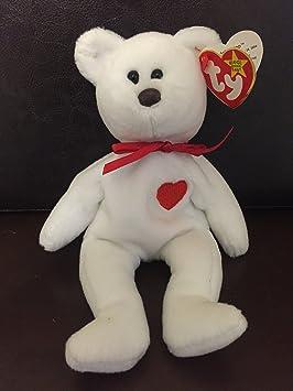 RARE Retired Valentino Bear Ty Beanie Babies w MINT tags cf3529347fce
