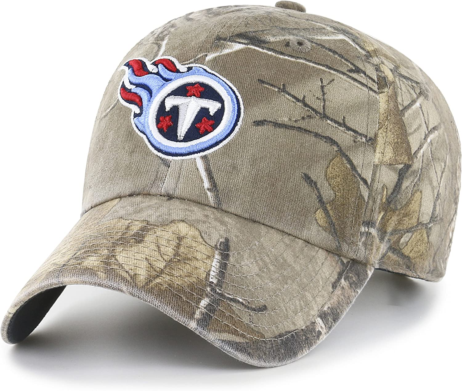 Realtree OTS NFL Tennessee Titans Mens Challenger Adjustable Hat One Size