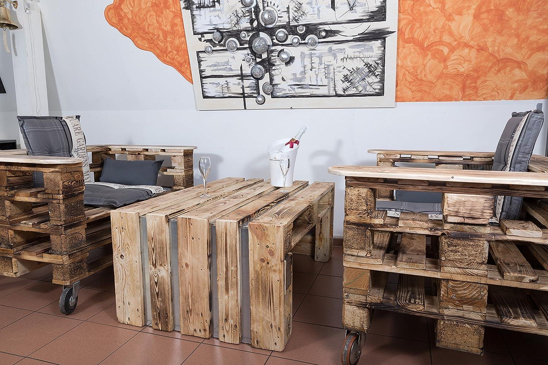 Muebles hechos de palés, muebles de jardín de palés, juego ...