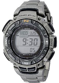 d4f60081f564 Amazon.com  Casio Men s Pro Trek PRW-2500R-1CR Tough Solar Digital ...