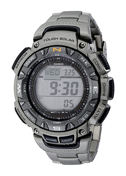 Casio PAG240T-7CR Pathfinder Survival Watch
