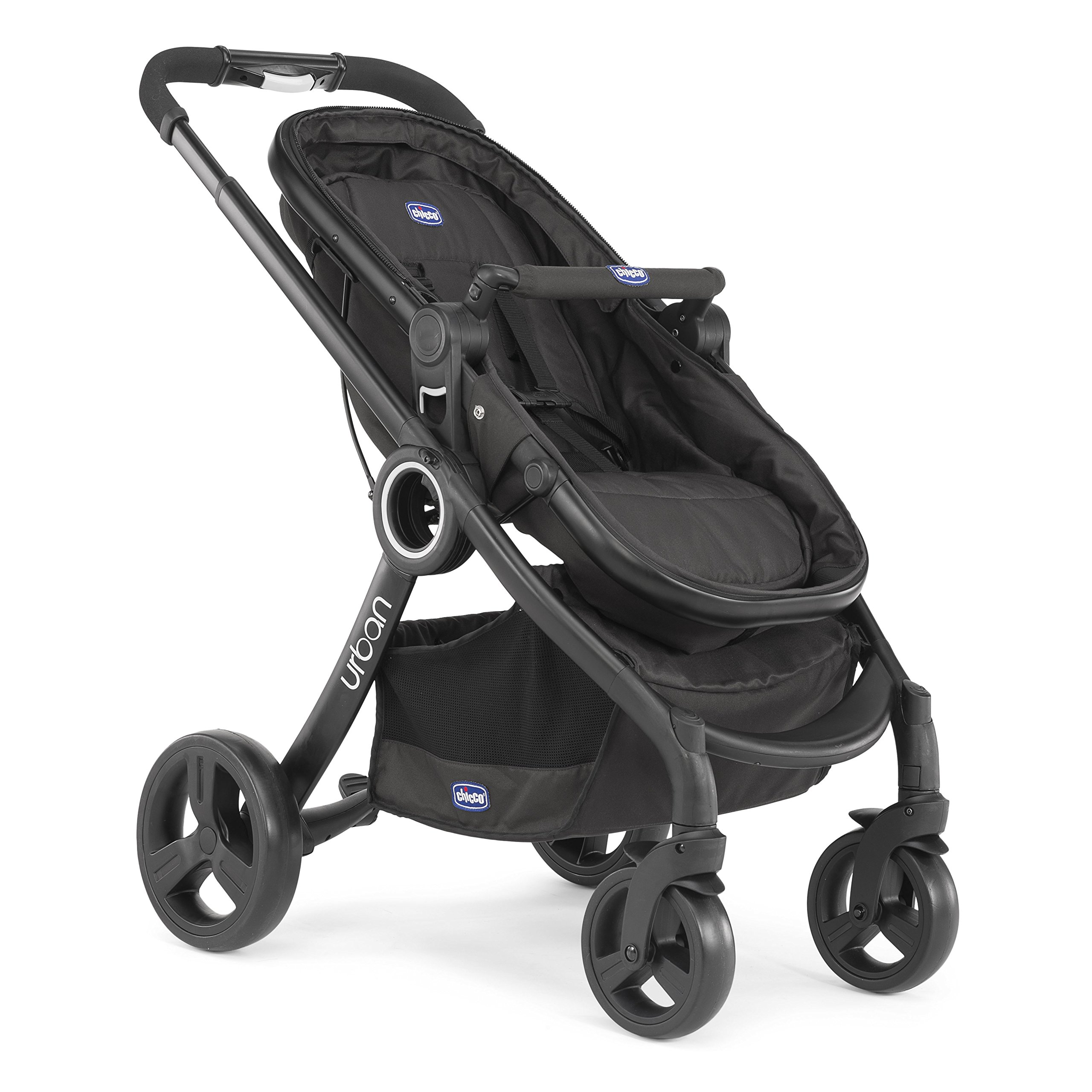 Chicco Urban Plus - Carrito transformable en capazo y silla de paseo, 7,6