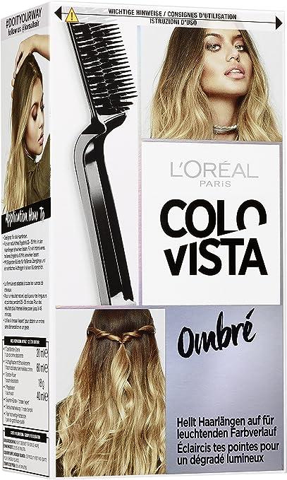 Loréal Colovista Effect Bleach - Tinte castaño (brunette) número 2