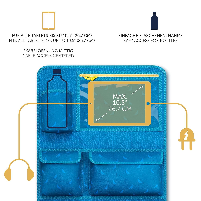Deluxe Organisateur De Voiture Support Tablette Laleni Bleu Prot/Ã/¨ge Si/Ã/¨ge Enfant Si/Ã/¨ge Arri/Ã/¨re