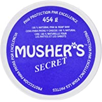 Musher's Secret Pet Paw Protection Wax, 1-Pound